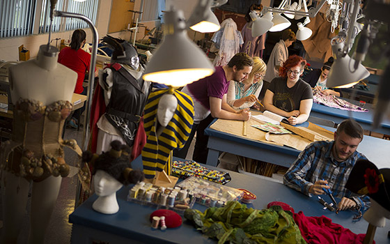 Theatre costume design in the School of Arts, Media, Performance and Design, York University